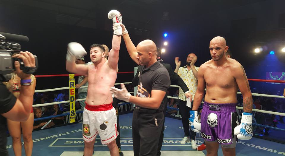 Dumitru Topai defeated Victor Rosado by KO in the first round