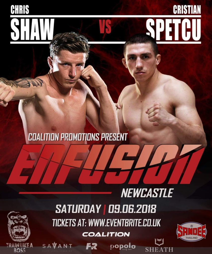 Enfusion - Cristian Spectu vs Chris Shaws @ Sport Central | England | United Kingdom